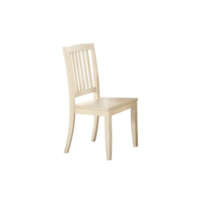 Stroupe Solid Wood Dining Chair Finish: White