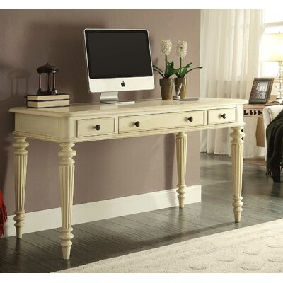Otwell 54 Fluted Leg Writing Desk