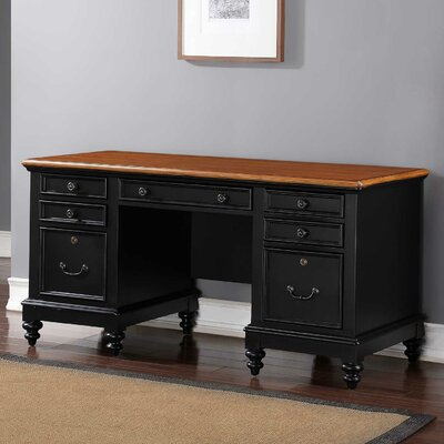 Stroupe 63 Flat Top Executive Desk