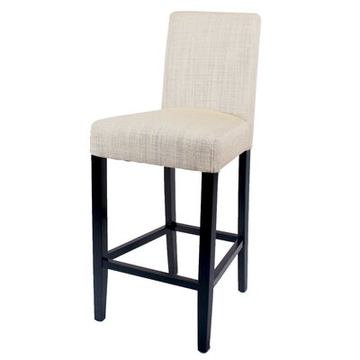 Owensburg 26 Bar Stool Color: Canvas
