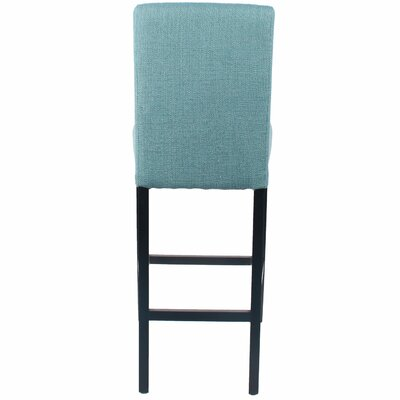 Owensburg 30.5 inch Bar Stool Upholstery: Light Green