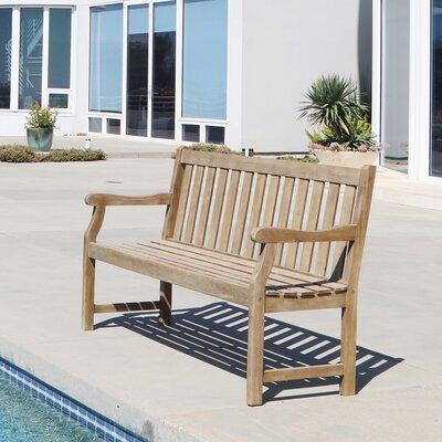 Densmore Wood Garden Bench Size: 35 H x 48 W x 22 D