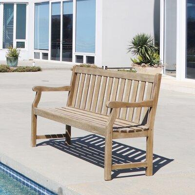 Densmore Wood Garden Bench Size: 35 H x 60 W x 22 D