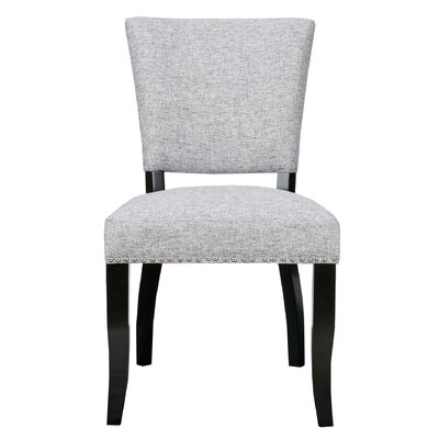 Gilberton Side Chair Upholstery: Gray