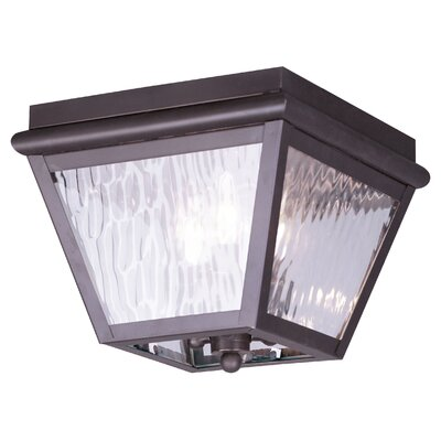 Philip 3-Light Flush Mount
