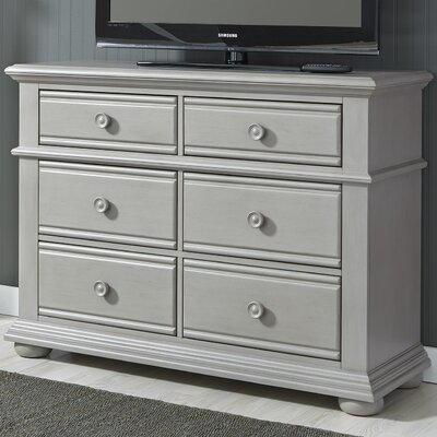 Edison 6 Drawer Media Chest