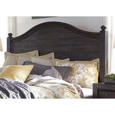 Maguire Poster Upholstered Panel Headboard Size: King
