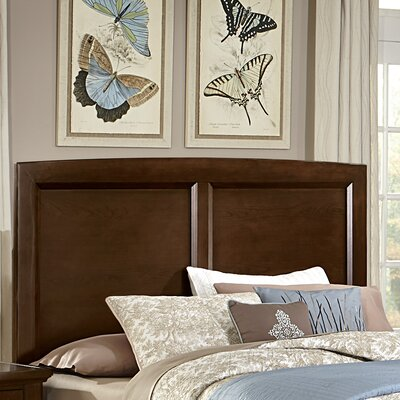 Bertram Wood Headboard Size: Twin, Finish: Dark Cherry