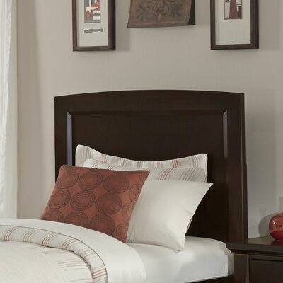 Bertram Wood Headboard Size: Twin, Color: Merlot