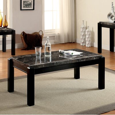 Bristol Coffee Table Top Finish: Gray