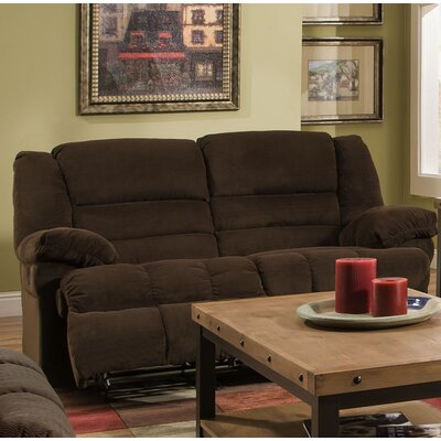 Darby Home Co DRBC6398 Simmons Upholstery Mendes Double Motion Reclining Loveseat