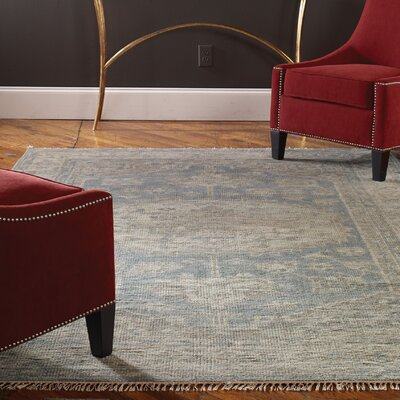 Cambridge Hand-Knotted Blue/Gray Area Rug