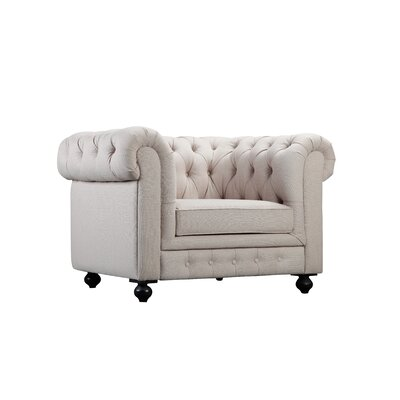 Dolores Armchair Color: Beige