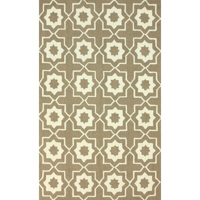 Lester Brown Super Bold Area Rug Rug Size: Rectangle 5 x 8