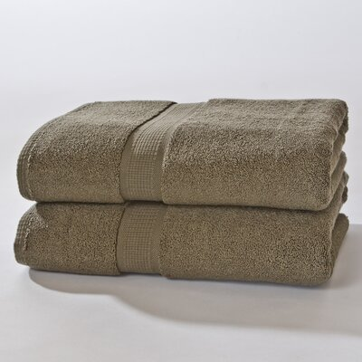 Bloomberg Bath Sheet Color: Moss Green