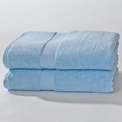 Bloomberg Bath Sheet Color: Sky Blue