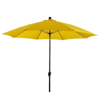 9 Wellfleet Market Umbrella Fabric: Polyester Yellow