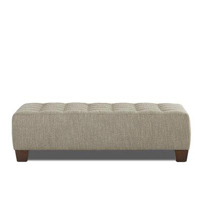 Buncombe Ottoman Upholstery: Shoji Steel