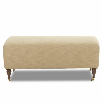 Brittany Ottoman Upholstery: Hannah Cafe