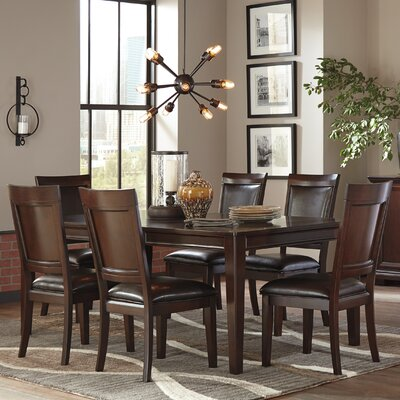 Roseline Rectangular Counter Height Extendable Dining Table
