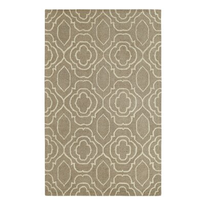Frederica Silver/Ivory Area Rug Rug Size: Rectangle 5 x 8