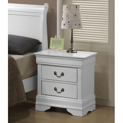 Caldello 2 Drawer Nightstand