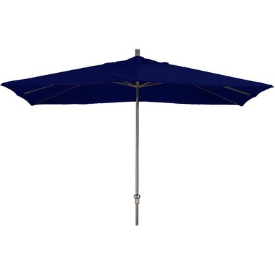 Chase 8 x 11 Rectangle Market Umbrella Fabric: Sunbrella A Navy