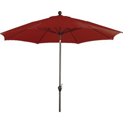9 Wellfleet Market Umbrella Fabric: Polyester Brick