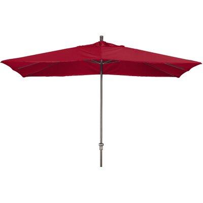 Chase 8 x 11 Rectangle Market Umbrella Fabric: Sunbrella AA Jockey Red
