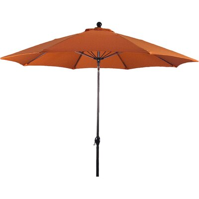 9 Wellfleet Market Umbrella Fabric: Polyester Tuscan