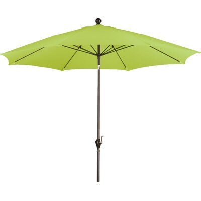 9 Wellfleet Market Umbrella Fabric: Polyester Lime Green