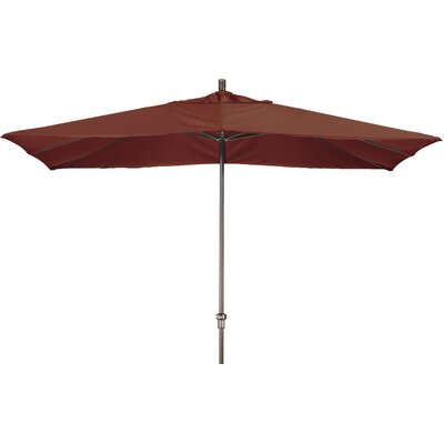 Chase 8 x 11 Rectangle Market Umbrella Fabric: Sunbrella AA Henna