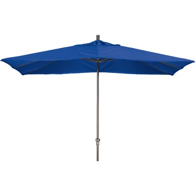 Chase 8 x 11 Rectangle Market Umbrella Fabric: Sunbrella A Pacific Blue