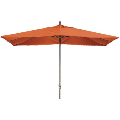 Chase 8 x 11 Rectangle Market Umbrella Fabric: Sunbrella AA Tuscan