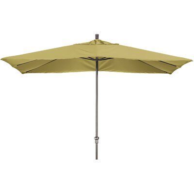 Chase 8 x 11 Rectangle Market Umbrella Fabric: Sunbrella A Wheat