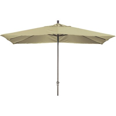 Chase 8 x 11 Rectangle Market Umbrella Fabric: Sunbrella A Antique Beige