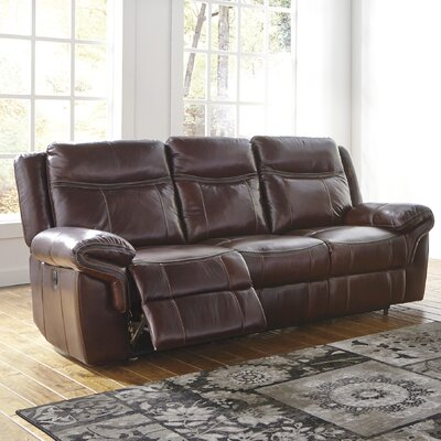 Natasha Reclining Sofa Type: Power