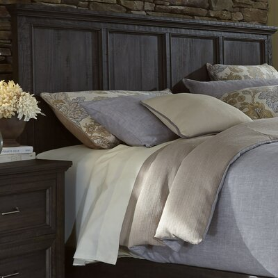 Loida Wood Panel Headboard Size: Queen