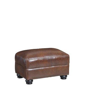 Marielan Leather Ottoman