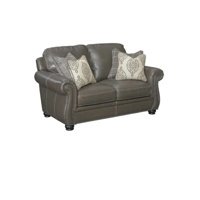 Mariela Leather Loveseat