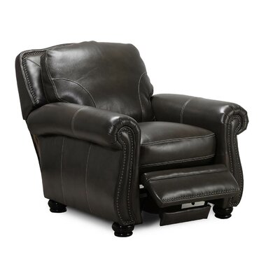 Mariela Leather Manual Recliner