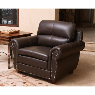 Baronets Top Grain Leather Club Chair