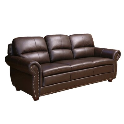 Barron Leather Sofa