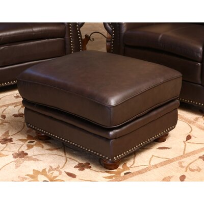 Barrymore Leather Ottoman