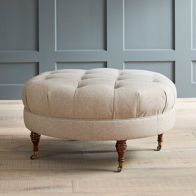 Farrwood Ottoman Fabric: Devon Mouse