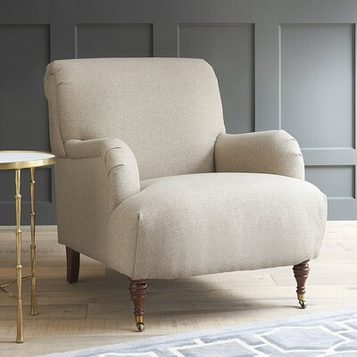 Farrwood Armchair Fabric: Equinox Navy