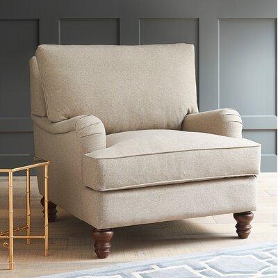 Vanessa Armchair Upholstery: Devon Mouse