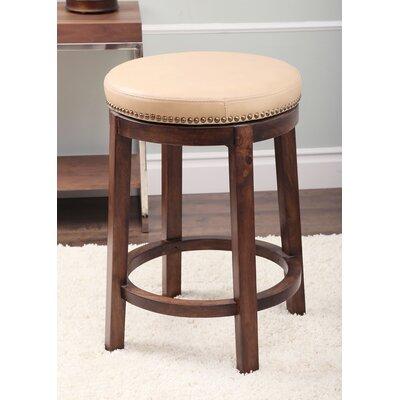 Attleborough 26 Swivel Bar Stool Upholstery: Camel