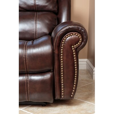 Deloatch Leather Power Recliner