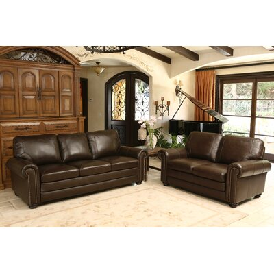 Bolling Leather Configurable Living Room Set